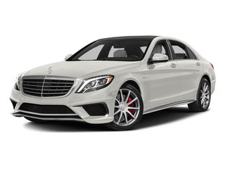 designo Magno Cashmere White (Matte Finish) 2017 Mercedes-Benz S-Class Pictures S-Class AMG S 63 4MATIC Sedan photos front view