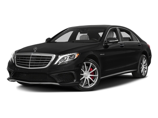 Obsidian Black Metallic 2017 Mercedes-Benz S-Class Pictures S-Class Sedan 4D S63 AMG AWD V8 Turbo photos front view