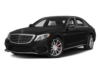 Obsidian Black Metallic 2017 Mercedes-Benz S-Class Pictures S-Class AMG S 63 4MATIC Sedan photos front view