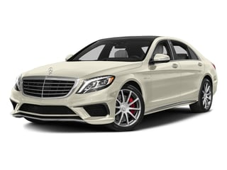 designo Diamond White Metallic 2017 Mercedes-Benz S-Class Pictures S-Class AMG S 63 4MATIC Sedan photos front view