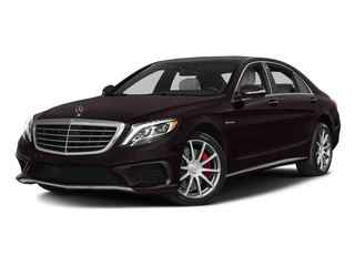 Ruby Black Metallic 2017 Mercedes-Benz S-Class Pictures S-Class Sedan 4D S63 AMG AWD V8 Turbo photos front view