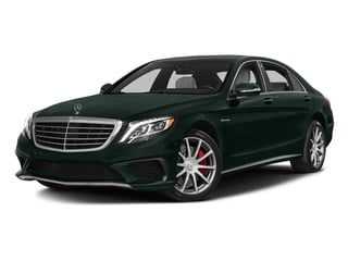 Emerald Green Metallic 2017 Mercedes-Benz S-Class Pictures S-Class Sedan 4D S63 AMG AWD V8 Turbo photos front view