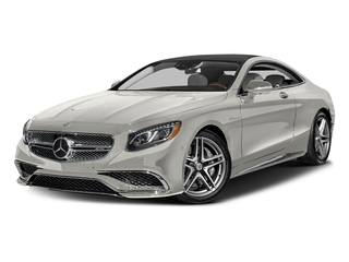 designo Magno Cashmere White (Matte Finish) 2017 Mercedes-Benz S-Class Pictures S-Class 2 Door Coupe photos front view