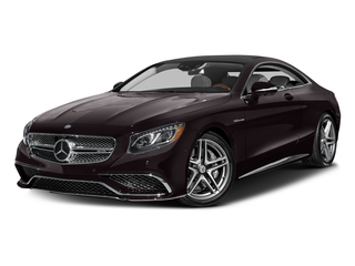 Ruby Black Metallic 2017 Mercedes-Benz S-Class Pictures S-Class 2 Door Coupe photos front view