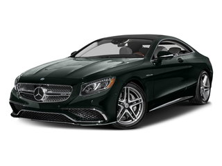 Emerald Green Metallic 2017 Mercedes-Benz S-Class Pictures S-Class 2 Door Coupe photos front view