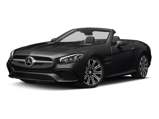 Black 2017 Mercedes-Benz SL Pictures SL Roadster 2D SL450 V6 Turbo photos front view