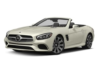 Polar White 2017 Mercedes-Benz SL Pictures SL Roadster 2D SL450 V6 Turbo photos front view