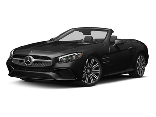 Obsidian Black Metallic 2017 Mercedes-Benz SL Pictures SL Roadster 2D SL450 V6 Turbo photos front view