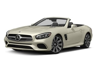 designo Diamond White Metallic 2017 Mercedes-Benz SL Pictures SL Roadster 2D SL450 V6 Turbo photos front view