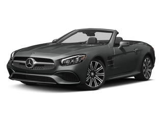 Selenite Grey Metallic 2017 Mercedes-Benz SL Pictures SL Roadster 2D SL450 V6 Turbo photos front view