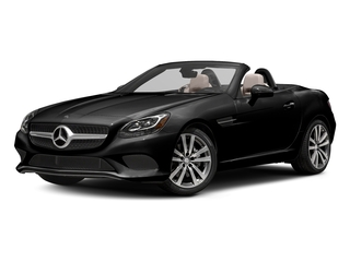 Obsidian Black Metallic 2017 Mercedes-Benz SLC Pictures SLC Roadster 2D SLC300 I4 Turbo photos front view