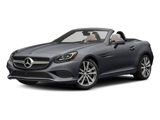 designo Shadow Grey Magno 2017 Mercedes-Benz SLC Pictures SLC Roadster 2D SLC300 I4 Turbo photos front view