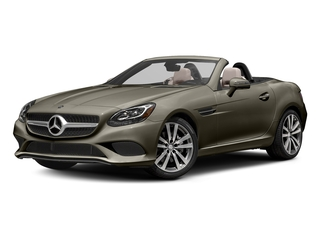 Indium Grey Metallic 2017 Mercedes-Benz SLC Pictures SLC Roadster 2D SLC300 I4 Turbo photos front view