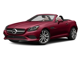 designo Cardinal Red Metallic 2017 Mercedes-Benz SLC Pictures SLC Roadster 2D SLC300 I4 Turbo photos front view