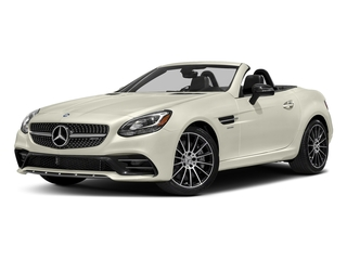 Polar White 2017 Mercedes-Benz SLC Pictures SLC AMG SLC 43 Roadster photos front view