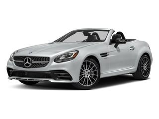 Iridium Silver Metallic 2017 Mercedes-Benz SLC Pictures SLC AMG SLC 43 Roadster photos front view