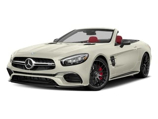 Polar White 2017 Mercedes-Benz SL Pictures SL AMG SL 63 Roadster photos front view