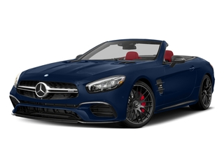 Brilliant Blue 2017 Mercedes-Benz SL Pictures SL AMG SL 63 Roadster photos front view