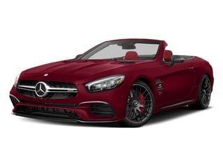 designo Cardinal Red Metallic 2017 Mercedes-Benz SL Pictures SL AMG SL 63 Roadster photos front view