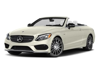 Polar White 2017 Mercedes-Benz C-Class Pictures C-Class AMG C 43 4MATIC Cabriolet photos front view