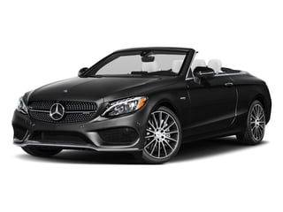 Obsidian Black Metallic 2017 Mercedes-Benz C-Class Pictures C-Class AMG C 43 4MATIC Cabriolet photos front view