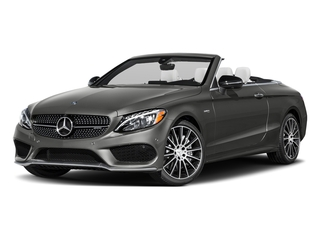 designo Selenite Grey Magno (Matte Finish) 2017 Mercedes-Benz C-Class Pictures C-Class AMG C 43 4MATIC Cabriolet photos front view