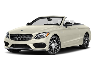 designo Diamond White Metallic 2017 Mercedes-Benz C-Class Pictures C-Class AMG C 43 4MATIC Cabriolet photos front view