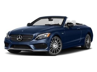 Brilliant Blue Metallic 2017 Mercedes-Benz C-Class Pictures C-Class AMG C 43 4MATIC Cabriolet photos front view