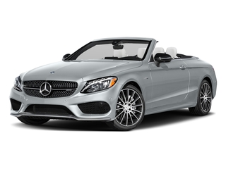 Diamond Silver Metallic 2017 Mercedes-Benz C-Class Pictures C-Class AMG C 43 4MATIC Cabriolet photos front view