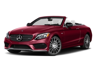 designo Cardinal Red Metallic 2017 Mercedes-Benz C-Class Pictures C-Class AMG C 43 4MATIC Cabriolet photos front view