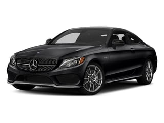 Black 2017 Mercedes-Benz C-Class Pictures C-Class Coupe 2D C43 AMG AWD V6 Turbo photos front view