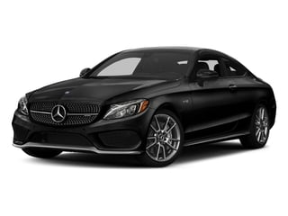 Obsidian Black Metallic 2017 Mercedes-Benz C-Class Pictures C-Class Coupe 2D C43 AMG AWD V6 Turbo photos front view
