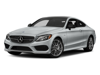 Iridium Silver Metallic 2017 Mercedes-Benz C-Class Pictures C-Class Coupe 2D C43 AMG AWD V6 Turbo photos front view