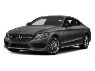 Selenite Grey Metallic 2017 Mercedes-Benz C-Class Pictures C-Class AMG C 43 4MATIC Coupe photos front view