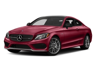 designo Cardinal Red Metallic 2017 Mercedes-Benz C-Class Pictures C-Class Coupe 2D C43 AMG AWD V6 Turbo photos front view