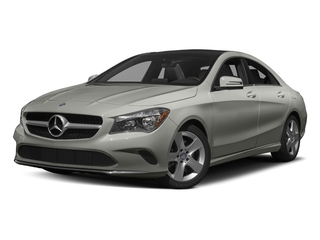 Polar Silver Metallic 2017 Mercedes-Benz CLA Pictures CLA Sedan 4D CLA250 I4 Turbo photos front view