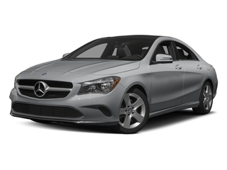 designo Magno Polar Silver (Matte Finish) 2017 Mercedes-Benz CLA Pictures CLA Sedan 4D CLA250 I4 Turbo photos front view
