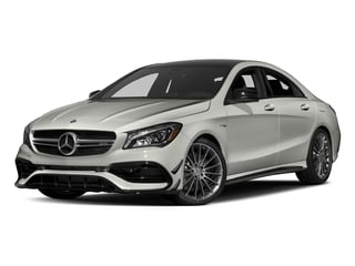 Polar Silver Metallic 2017 Mercedes-Benz CLA Pictures CLA Sedan 4D CLA45 AMG AWD I4 Turbo photos front view