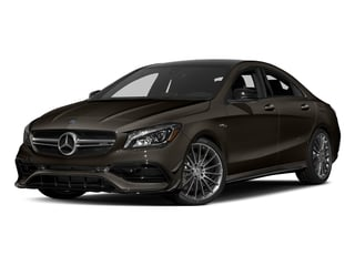 Cocoa Brown Metallic 2017 Mercedes-Benz CLA Pictures CLA Sedan 4D CLA45 AMG AWD I4 Turbo photos front view