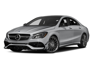 designo Magno Polar Silver (Matte Finish) 2017 Mercedes-Benz CLA Pictures CLA Sedan 4D CLA45 AMG AWD I4 Turbo photos front view