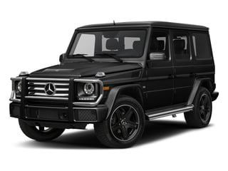 Obsidian Black Metallic 2017 Mercedes-Benz G-Class Pictures G-Class 4 Door Utility 4Matic photos front view