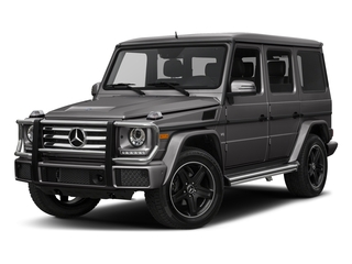 Tectite Grey Metallic 2017 Mercedes-Benz G-Class Pictures G-Class 4 Door Utility 4Matic photos front view