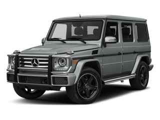 Iridium Silver Metallic 2017 Mercedes-Benz G-Class Pictures G-Class 4 Door Utility 4Matic photos front view