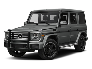 Palladium Silver Metallic 2017 Mercedes-Benz G-Class Pictures G-Class 4 Door Utility 4Matic photos front view