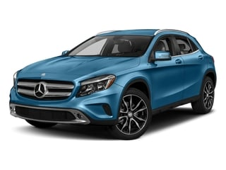 South Seas Blue Metallic 2017 Mercedes-Benz GLA Pictures GLA GLA 250 4MATIC SUV photos front view