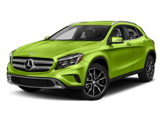 Kryptonite Green Metallic 2017 Mercedes-Benz GLA Pictures GLA GLA 250 4MATIC SUV photos front view