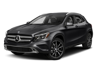 Cosmos Black Metallic 2017 Mercedes-Benz GLA Pictures GLA GLA 250 4MATIC SUV photos front view