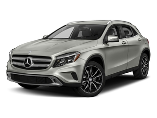 Polar Silver Metallic 2017 Mercedes-Benz GLA Pictures GLA GLA 250 4MATIC SUV photos front view