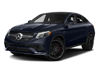 Lunar Blue Metallic 2017 Mercedes-Benz GLE Pictures GLE AMG GLE 63 S 4MATIC Coupe photos front view