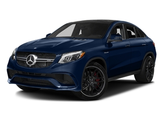 Brilliant Blue Metallic 2017 Mercedes-Benz GLE Pictures GLE AMG GLE 63 S 4MATIC Coupe photos front view